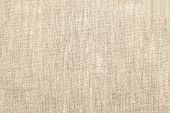 Natural Linen Material Textile Canvas Texture Background poster