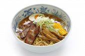 Miso Ramen Noodles , Japanese Food