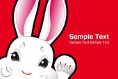 easter bunny , easter rabbit , greeting card design