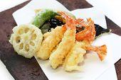 Tempura, comida japonesa
