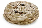 chapati , flat indian bread