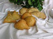 Vegetable Samosas And Pakoras