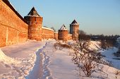 Salvador Euthimiev monasterio fortaleza de Suzdal (Rusia) en invierno
