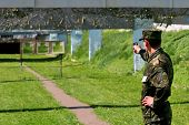 Shooting-range - military training