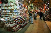 Tiendas del Gran Bazar de Estambul