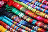 ecuadorianischen (Peru) traditionellen Stoffen