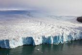 Geleiras (que desaguam no Oceano Ártico)