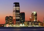 JERSEY CITY - AUG 8: Goldman Sachs Tower, with 42 floors and 781 feet tall, is the tallest building