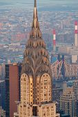 NEW YORK CITY, NY, USA - MAR 30: Chrysler Building on March 30, 2011 in Manhattan, New York City. Chrysler Building was designed by architect William Van Alena as Art Deco architecture in US.