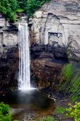 Taughannock Falls, a waterfall near Ithaca, NY