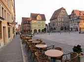 Street of Rothenburg ob der Tauber