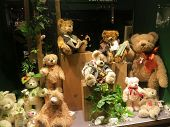 Traditional Teddy Bear Toy Shop