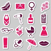 Women Stickers