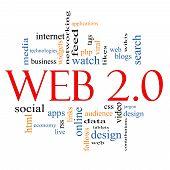 Web 2.0 Word Cloud Concept
