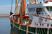 Green Fish Trawler