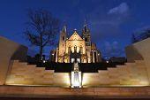 Saint Mary's Cathedral, Perth At Dusk
