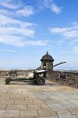 Howitzer artillery.