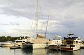 foto of batangas  - Yachts and sailboats anchored in Batangas Philippines - JPG