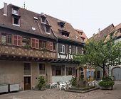 Traditionelle Häuser in selestat