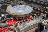1957 Ford Thunderbird Engine
