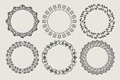 Varias fronteras circulares