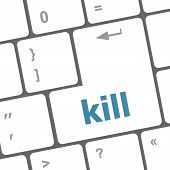 Kill Computer Keyboard Key Button