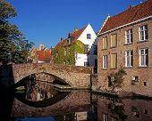 Kanal Brücke, Green Quay, Brügge.