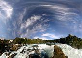 Rhine Falls Near Schaffhausen, Switzerland