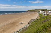 Broad Haven beach St Bride's Bay Pembrokeshire