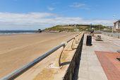 Broad Haven beach St Bride's Bay Pembrokeshire Wales