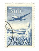 Old Stamp From Finland