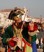 Carnival Fiddle Player