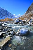 Altai Mountains, Lake Teletskoye, Southern Siberia, Russia