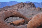 "pic of mt whitney  - Alabama Hills are a ""range of hills"" and rock formations near the eastern slope of the Sierra Nevada Mountains in the Owens Valley, west of Lone Pine in Inyo County, California.
