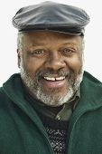 Portrait of a mature man smiling