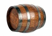 picture of bulge  - Wooden barrel with iron rings - JPG