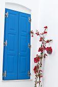 House from Mykonos island