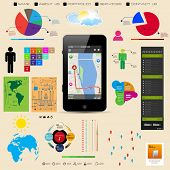 Premium infographics master collection vector eps10, you can easy editable