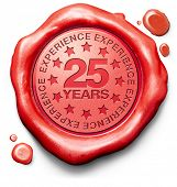 twenty five years experience 25 year of specialized expertise top expert specialist best service guaranteed