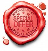 special offer hot sales promotion bargain webshop icon or online internet web shop stamp or label