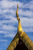 foto of raja  - Naga Lanna Gable Apex Chedi in Wat Raja Mon Thian  - JPG