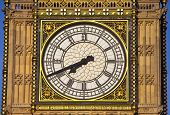 Big Ben (houses Of Parliament) Clock Face