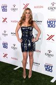 LOS ANGELES - MAY 15:  Rebecca Mader arrives at the 2013 Maxim Hot 100 Party at the Vanguard on May