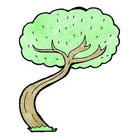 foto of twisty  - cartoon twisty tree - JPG