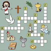 Постер, плакат: Crossword Religion