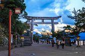 Ishidorii in Miyajima