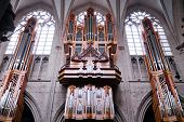 image of pipe organ  - Organ of the Cathedral of St - JPG