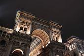 Galleria Vittorio Emanuele, em Milão