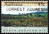 Postage Stamp Australia 1992 North Eastern Victoria, Vineyard Re