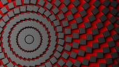 picture of centrifuge  - Abstract red with black centrifuge background - JPG
